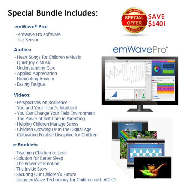 emWave Pro Family Wellness Bundle