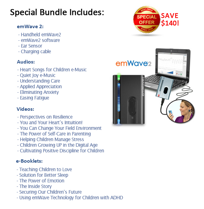 emWave2 Family Wellness Bundle